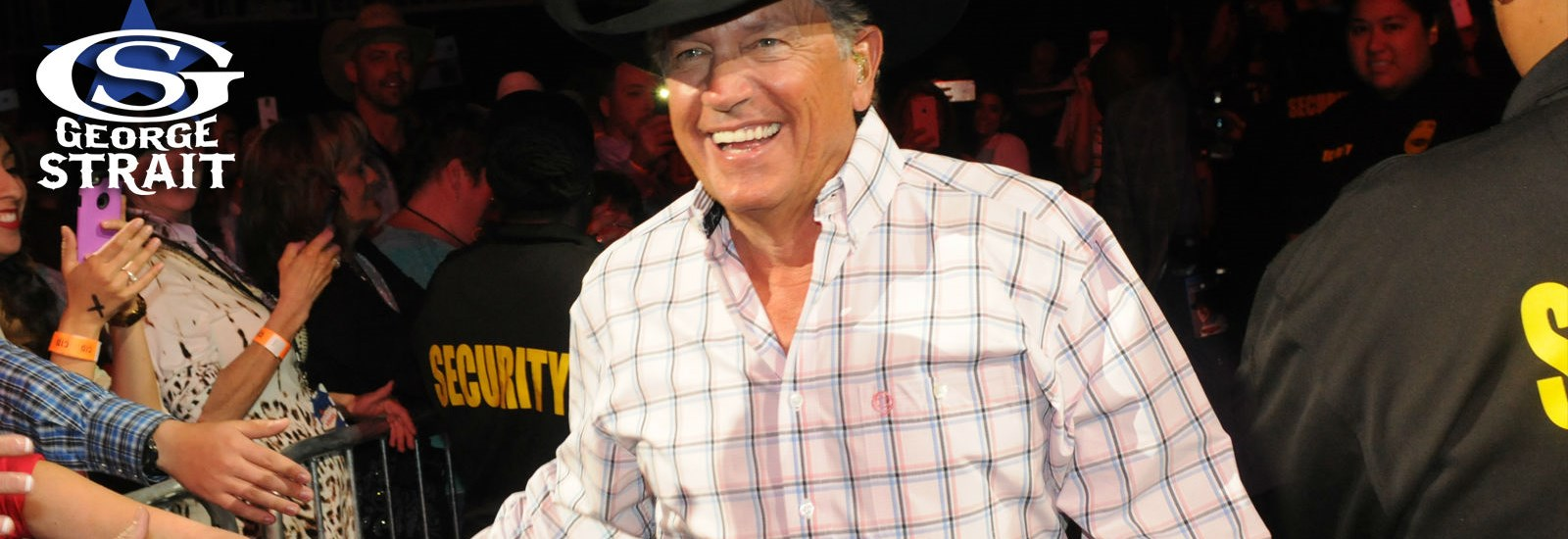 george strait meet and greet auction